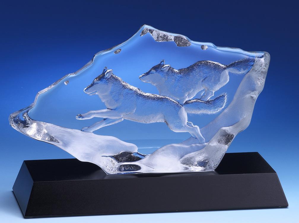 Plaque de verre