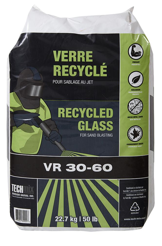 Sac verre recyclé